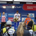 Zolder World Cup Podium