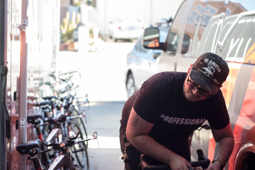 Super Mechanic Zane Getting All of Our Gear Ready to Roll